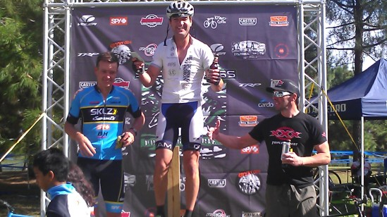 Black Sheep Jay Lariviere Looking Good on the Podium