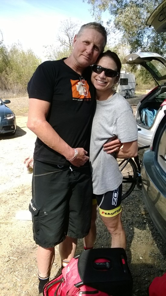 Hanging out with Johnny and Sarah before Murrieta Stage 1
